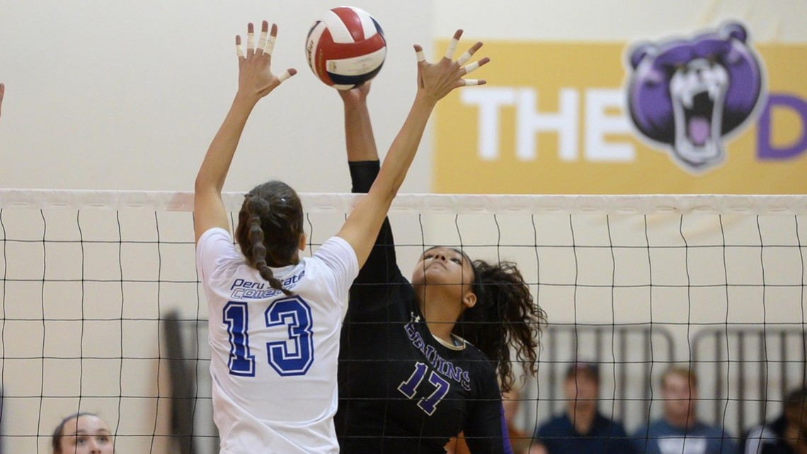Bruin Volleyball Sweeps Peru State North Star Athletic Association